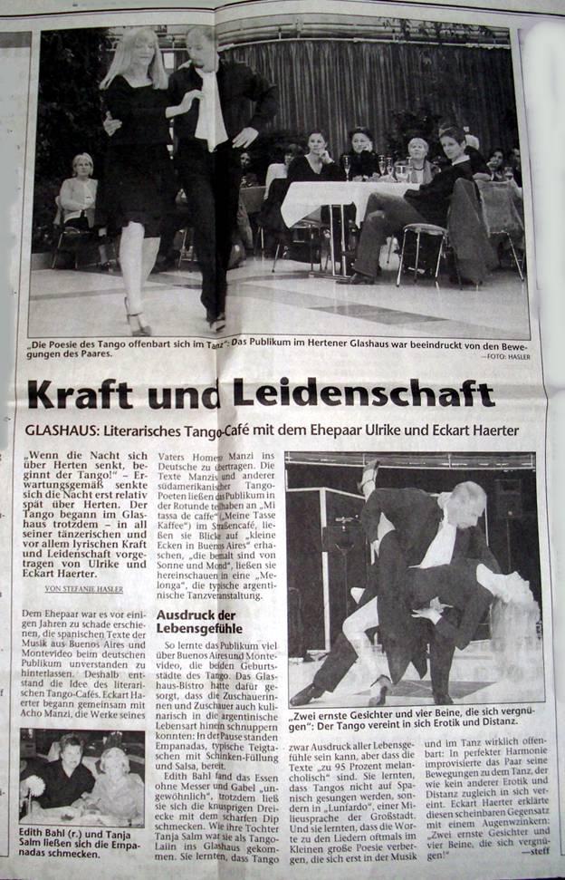 Hertener Allgemeine Artikel